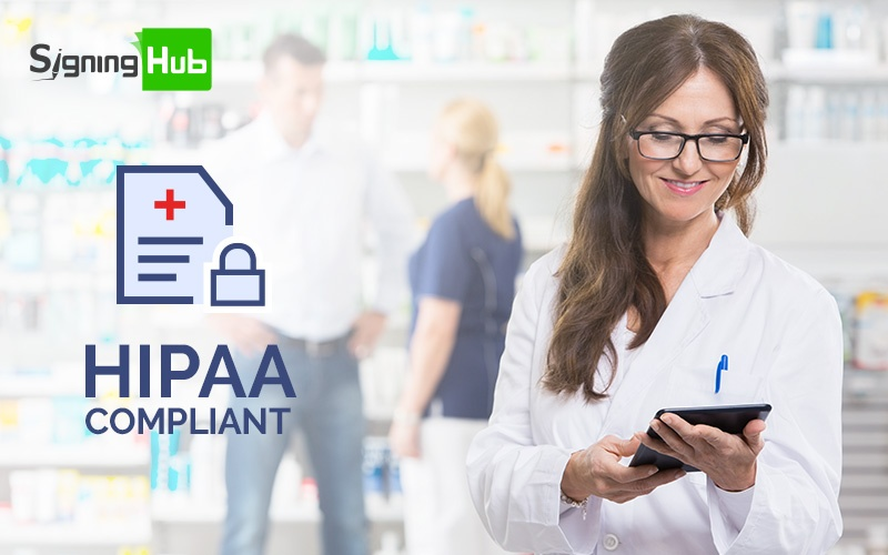 How SigningHub implements HIPAA compliant security standards