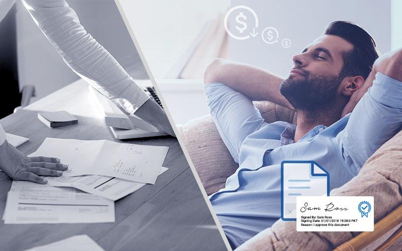 How Digital Signature cost savings
