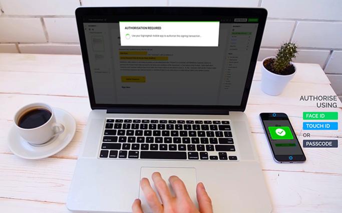 eIDAS compliant Remote Signing
