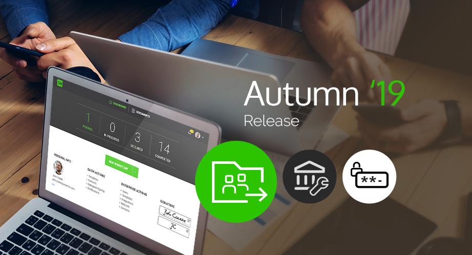 SigningHub Autumn 19 Release
