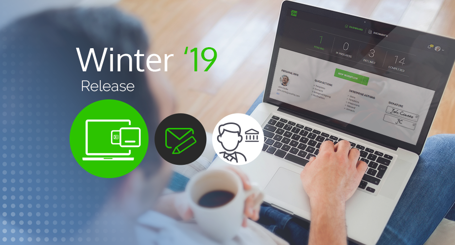 SigningHub Winter  19 Release