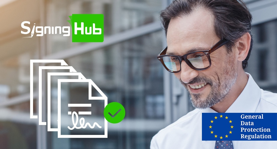How Does SigningHub Help With GDPR?