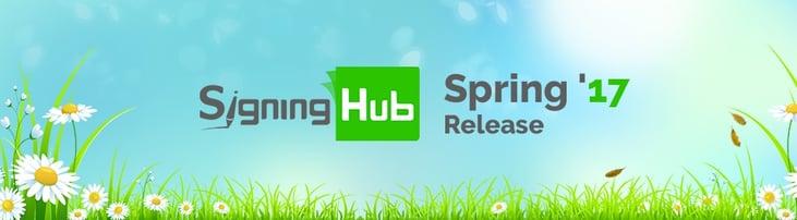 SigningHub Spring 17 Release